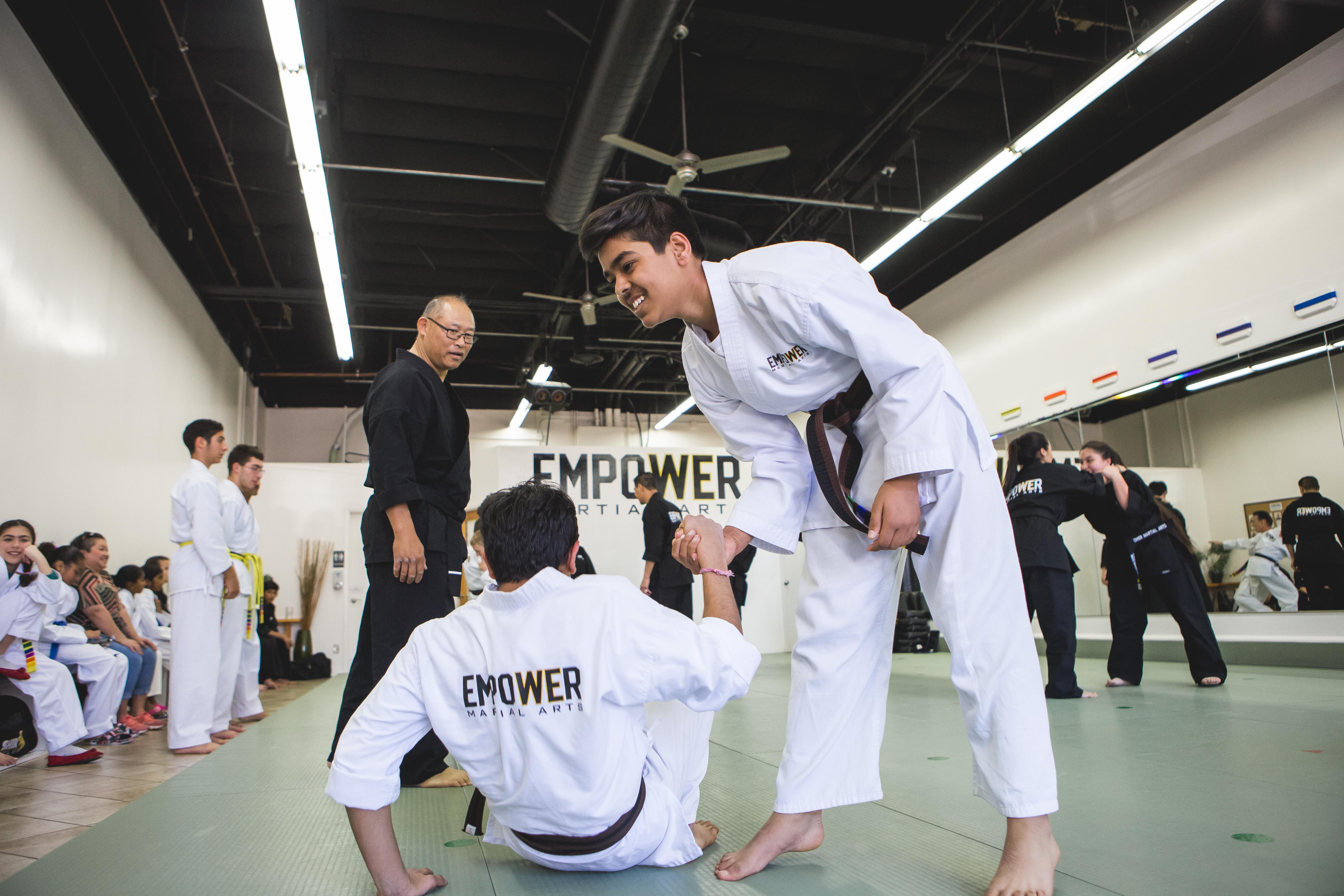 Empower Martial Arts | Home | Family Martial Arts Dublin, CA